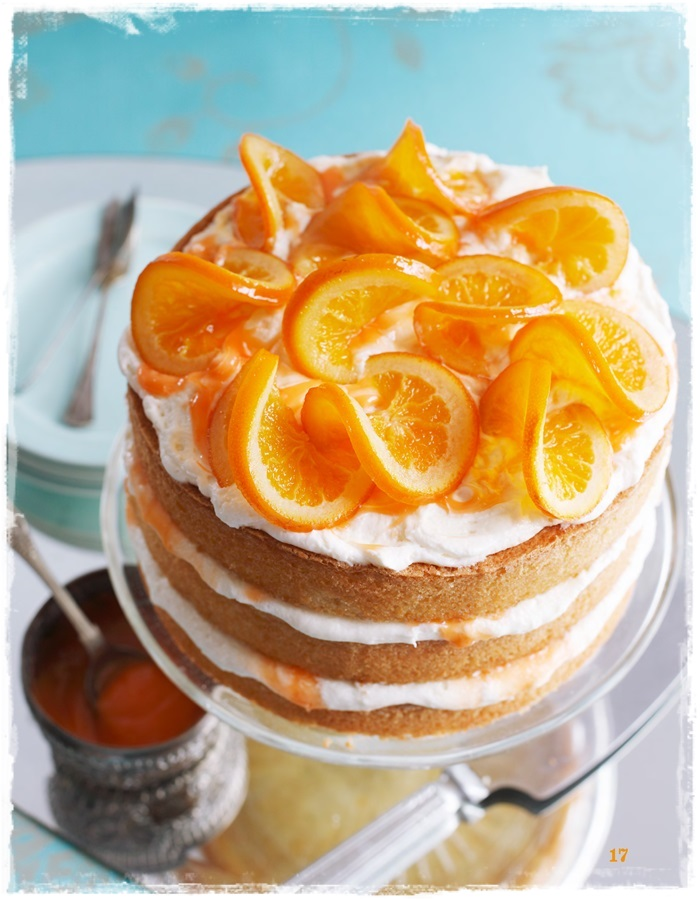 Brighton Bakes Blood Orange Cake