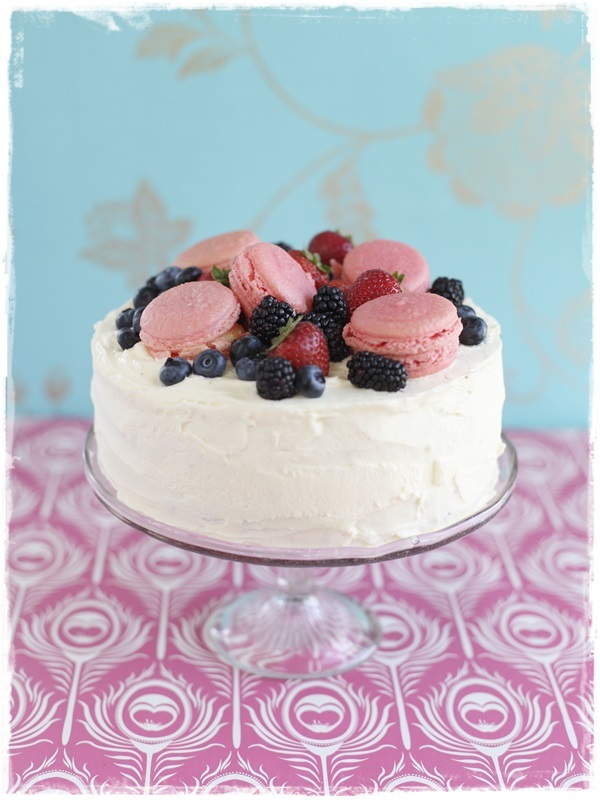 Brighton Bakes Macaroon Cake