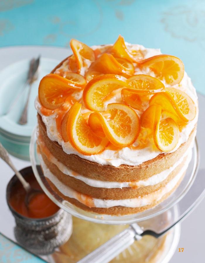 Brighton Bakes Blood Orange Cake