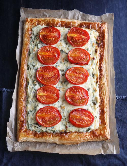 Brighton Bakes Small Tomato tart