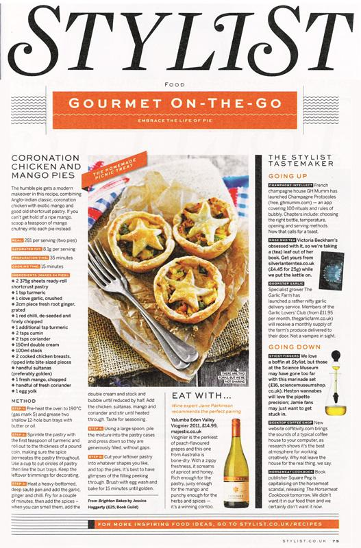 Brighton Bakes in Stylist Magazine