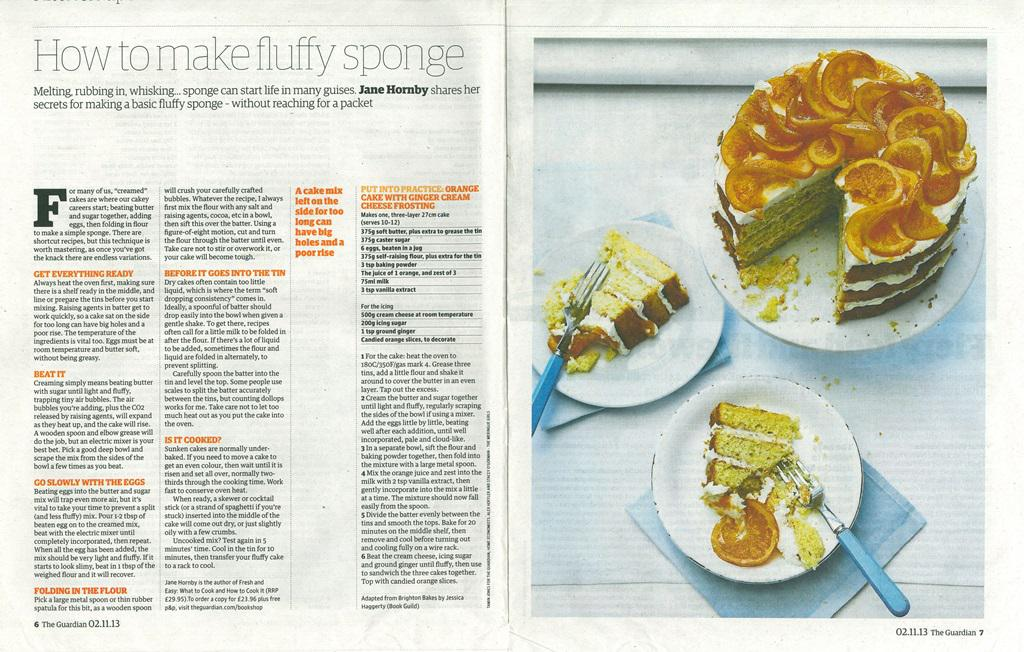 Recipe featured in Guardian Cook November 2013